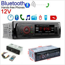 Car Stereo Audio In-Dash Aux Input Receiver Bluetooth MP3 FM Radio Player SD USB