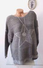 Grobe Damen-Pullover & -Strickware aus Wolle Größe 42