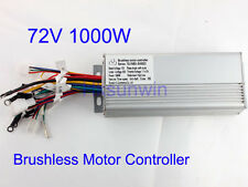 72V 1000W Electric Bicycle Brushless Speed Motor Controller For E-bike & Scooter
