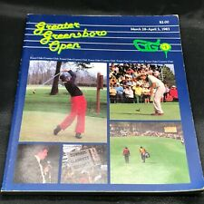 More details for vintage very rare 1983 greater greenboro golf open march forest oaks