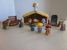 Fisher Price Little People 2002 Nativity set 13 pieces total