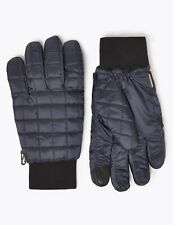 MENS Marks & Spencer THERMOWARMTH QUILTED PERFORMANCE GLOVES WATER & WIND RESIST