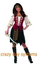 ELEGANT PIRATE COSTUME SIZE SMALL 4/6 Rubies WOMENS Cosplay