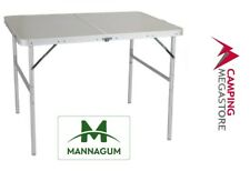 ALUMINIUM BI-FOLD TABLE – MANNAGUM  120CM X 60CM