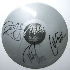 Metallica x3 Band Signed Beyond Magnetic Vinyl EP EXACT Proof JSA COA RSD
