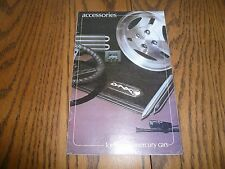 1981 Lincoln Mercury Accessories Sales Brochure - Vintage