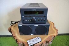 Stereoanlage Yamaha CRX-040, dunkelgrau