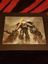 Warhammer 40k Triumvirate Of The Primarch Framed Artwork
