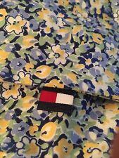 Tommy Hilfiger Elizabeth Anne Blue & Yellow Floral Pillow Sham ~ Nwot
