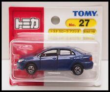 TOMICA #27 TOYOTA COROLLA AXIO 1/63 TOMY DIECAST CAR  27