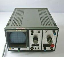 Vintage Hameg Oscilloscope HM 307 for PARTS / REPAIR - powers on