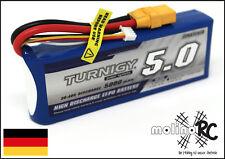 1x Turnigy 5000mAh 3S 30-40C NEU 3S Lipo Akku 11,1V Traxxas Horizon Kyosho XT90