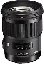 Sigma 50mm f/1.4 DG HSM Art Lens 311306 for Nikon
