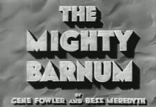 THE MIGHTY BARNUM (1934) DVD WALLACE BEERY, ADOLPHE MENJOU