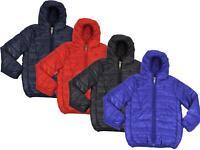 Kids Soul Star Hester Hood Packaway Down Effect Puffa Jacket Boys Coat