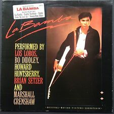 Los Lobos LA BAMBA LP Rock Film Soundtrack OST 1987 Ritchie Valens Brian Setzer