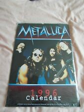 METALLICA CALENDAR 1996