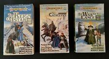 Dragon Lance Tales II trilogy Volume 1 2 3 books lot PB Weis Hickman Dragonlance