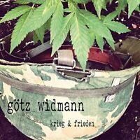 GOETZ WIDMANN - KRIEG & FRIEDEN   CD NEU