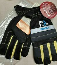 Pro Tech 8 Fusion T Firefighter Short Cuff Gloves Size Xxl New Black