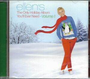 Ellen's Only Holiday Album Volume 1 CD - NEW - Lady Gaga, Buble, She & Him +