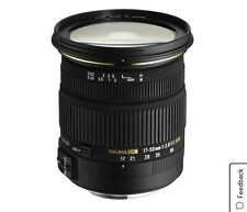 Sigma 17-50mm F2.8 DC EX OS Lens 17-50/2.8 Nikon, Used w/costly accessories