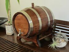 Made To Order 5 Litre American Oak Port/Rum/Bourbon Spirit Barrel Hand Crafted