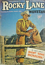 Rocky Lane Western #6 Fawcett Comic Golden Age 1949 GD/VG