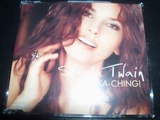 Shania Twain Ka-ching UK CD Single – Like New