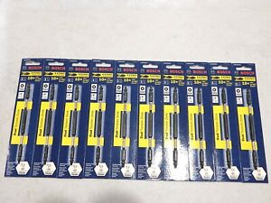 """10 NEW PACKS OF ITDESQ2601 BOSCH IMPACT TOUGH SQ2 SQUARE 6"""" DOUBLE END BITS"""