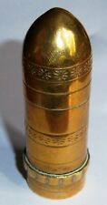 """FRENCH - WW1 Trench Art Lighter. """"LUXUOR""""."""