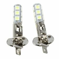 1X(2 pcs AUTO LAMPES PHARE LUMIERE H1 BLANC 13 LED SMD 5050 PUCES C4N8) 2U