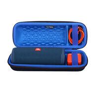 LTGEM Carrying Case for JBL FLIP 5 Waterproof Portable Bluetooth Speaker - Blue