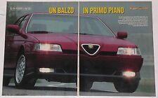 Test Drive Prova 1993 ALFA ROMEO 164 Q4
