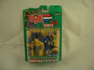 GI Joe vs Cobra Depth Charge with wave crusher Spy Troops