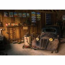 Vlies Fototapete no. 3360 ! Sonstiges Tapete Werkstatt, Oldtimer, Vintage, resta