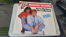 MODERN TALKING 2 TITRES YOU ARE MY HEART YOU ARE MY SOUL+ INSTRUMENTAL