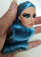 Fashion OOAK Hungarian  Eugenia Reroot Doll Head FR Royalty Perfect