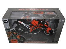 KTM 1290 SUPER DUKE R 1/12 MOTORCYCLE MODEL BY AUTOMAXX 605101