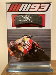 Rare!! Genuine Hand Signed Marc Marquez MotopGP Honda Brake Pad + COA RARE!!