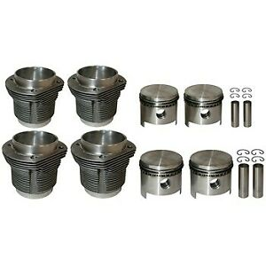Big bore piston and cylinder set, casted, bore 94.0 mm, stroke 69.0 mm, upper 10
