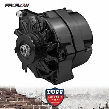 Holden VK VL Commodore 253 308 V8 Proflow Black Alternator 140 AMP Internal Reg