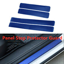 4D Carbon Fiber Car Scuff Plate Door Sill Cover Panel Step Protector Accessories