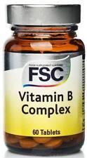 FSC vitamina B Complex 60 Tabletas. ** Compre 1 lleve 1 Gratis **