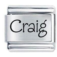 CRAIG Nome - Daisy Charm da JSC Fits Classic Size Italian Braccialetto Ciondoli