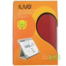NEW IUVO Apple iPad 2 Ally RED Leather Fashion Protective Convertible Case NEW