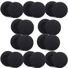 20 Head Phones Set Ear Foam Pad Covers 50mm Logitech
