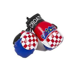 CROATIA MINIATURE BOXING GLOVES (PAIR) WORLD CUP 2022