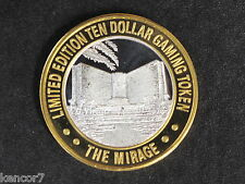 Mirage Casino Silver Strike Gaming Token Nevada D5258