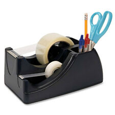 "Heavy Duty 2 Tape Dispenser, Holds 2"" and 3/4"" Rolls"